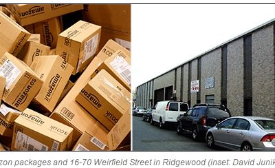 Shipping out: Amazon contractor moving distribution center to Ridgewood
