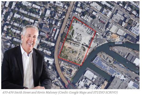 Yoel Goldman, Hakim partner with PMG on one of Gowanus' biggest vacant sites