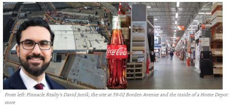 Bottle shock: Home Depot buys 7-acre Coca-Cola site for $63M