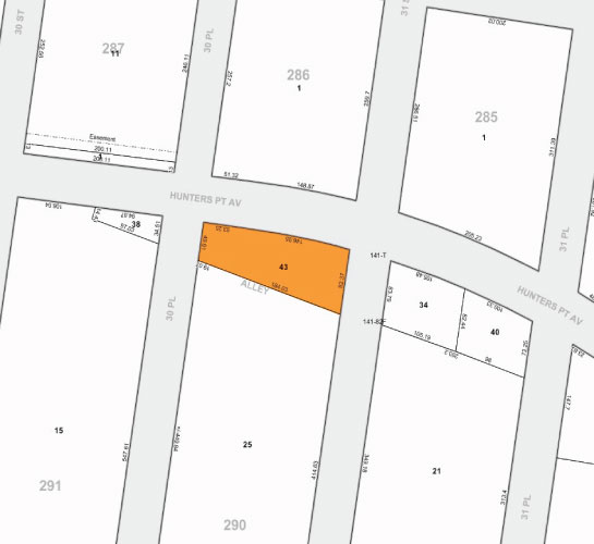Tax Map 30 30 Hunterspoint Ave