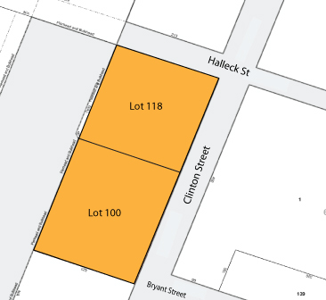 2 Tax Map 744 Clinton Street, Brooklyn