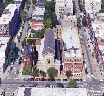 Google Earth 740 Dekalb Ave