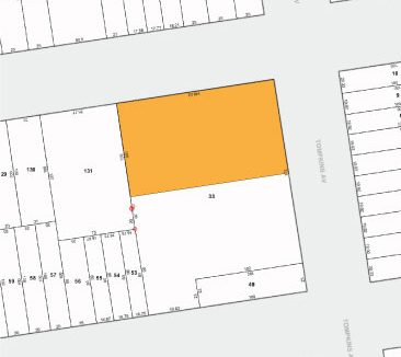 Tax Map 740 Dekalb Ave