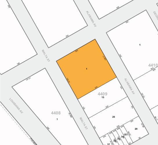 Tax Map 966 Alabama Ave