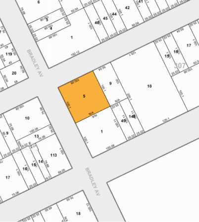 Tax Map 35 03 Bradley Ave
