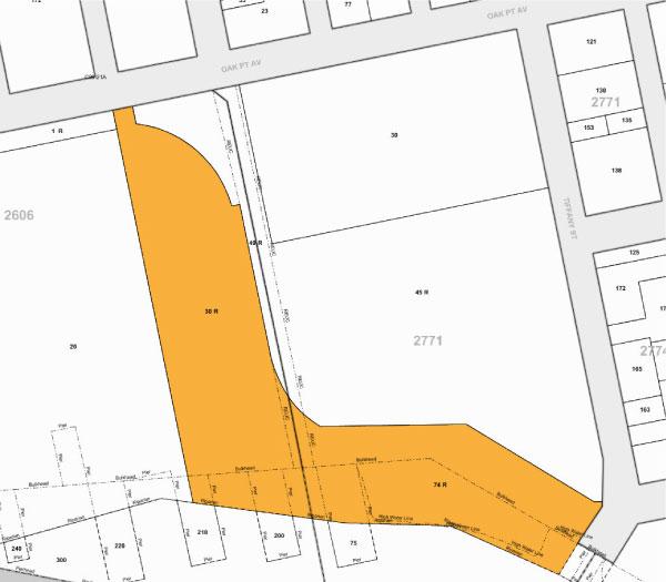 Tax Map 1110 Oak Point Ave